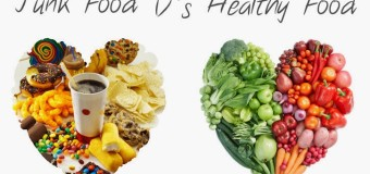 What differentiates healthy food from unhealthy food?