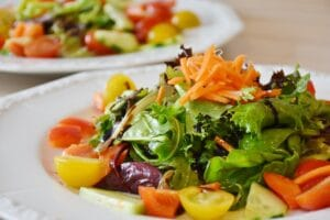 Salads a healthy diet food