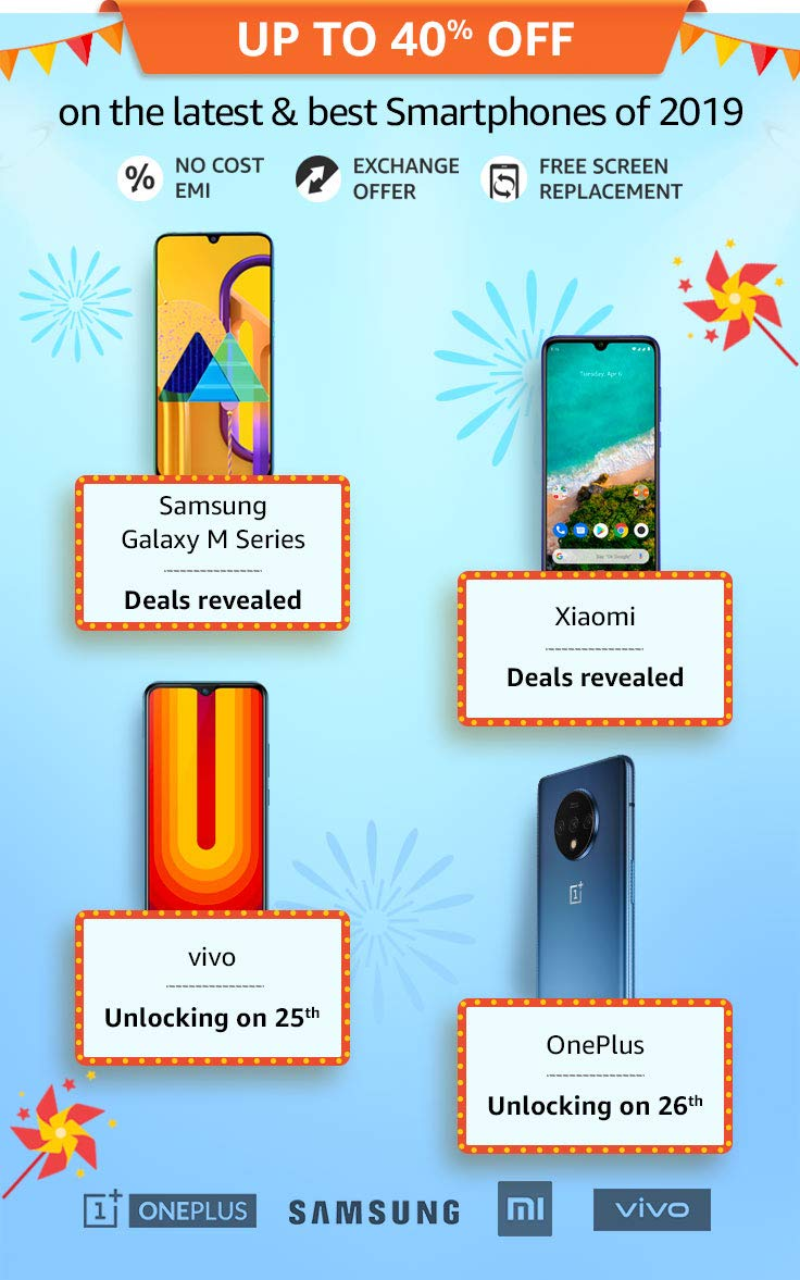 Amazon great indian smartphone sale
