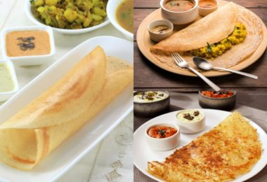 Varieties of Dosa - Plain Dosa Recipe, Mysore Masala Dosa Recipe and Rava Dosa Recipes 3
